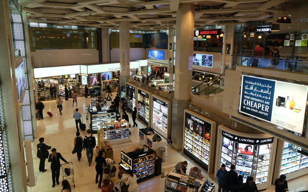 Abu Dhabi Duty Free shops