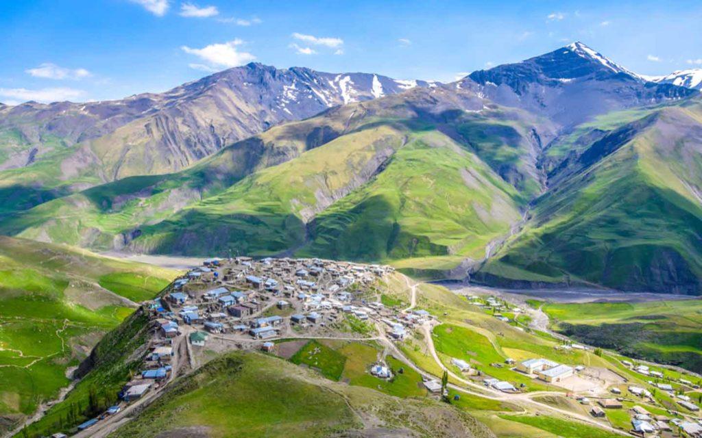 الطبيعة في أذربيجان