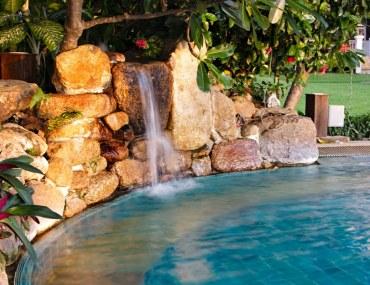 create a resort in your backyard