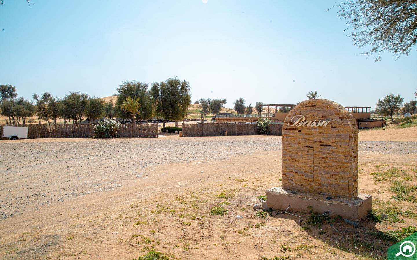 Entrance to Bassata Village RAK