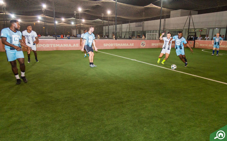 Bayut's corporate football tournament