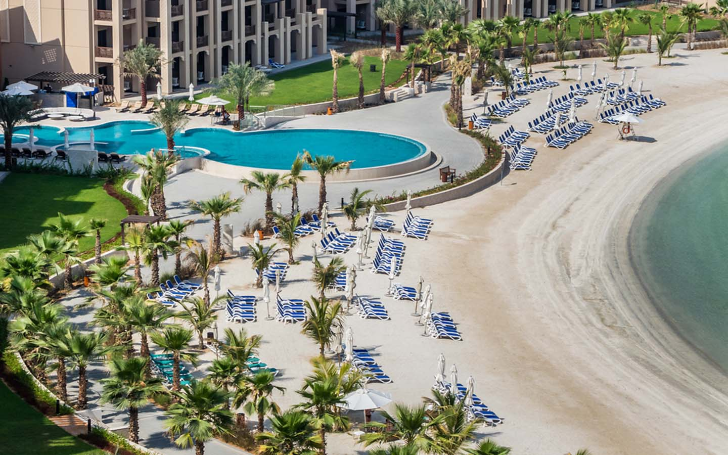 beach resort in RAK