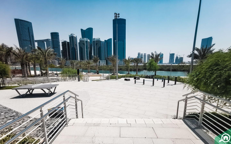 beach walk al reem central park