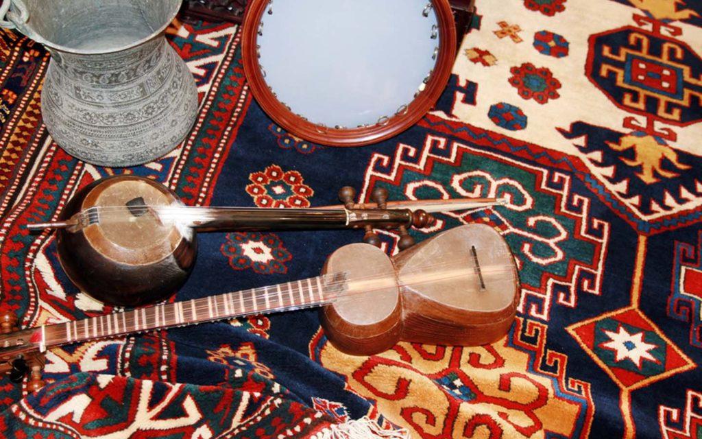 Bedouin musical intruments