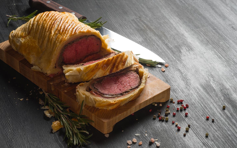طبق رغيف اللحم