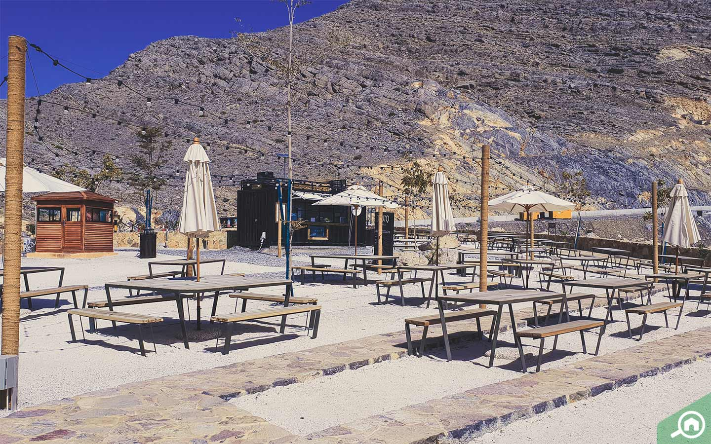 benches in jebel jais