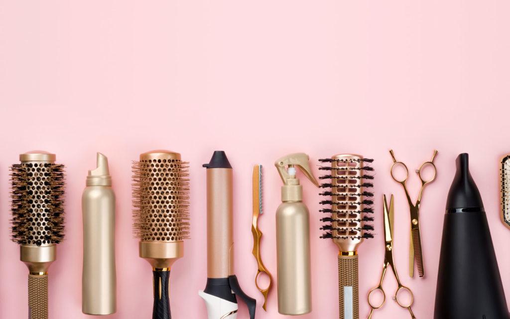 Range of salon accessories