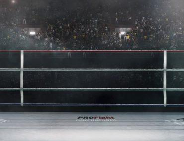 حلبة ملاكمة