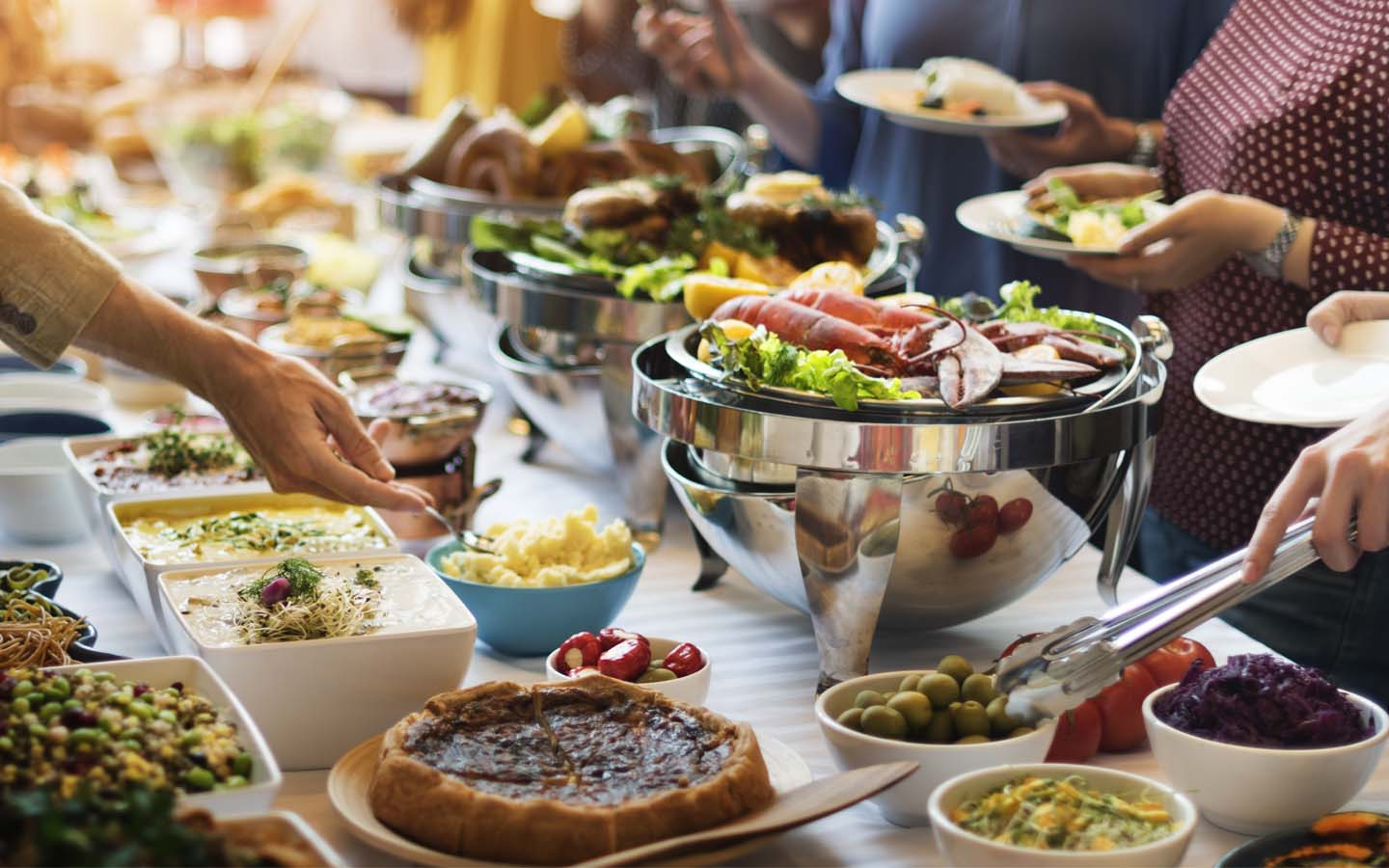 buffet brunches in Dubai