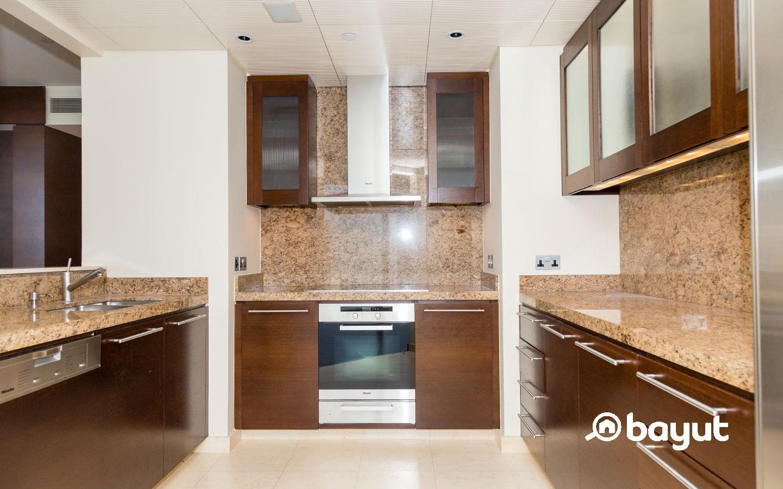 Burj Khalifa flat kitchen