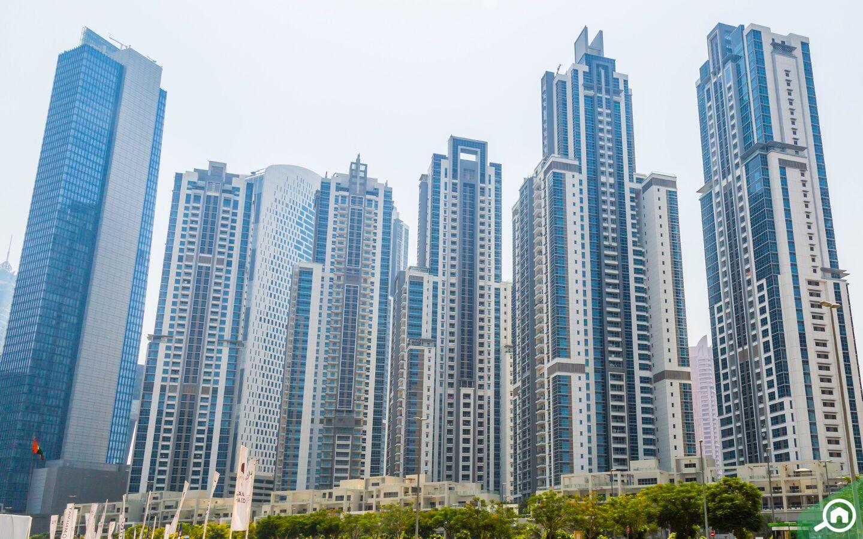 Buildings in Business Bay