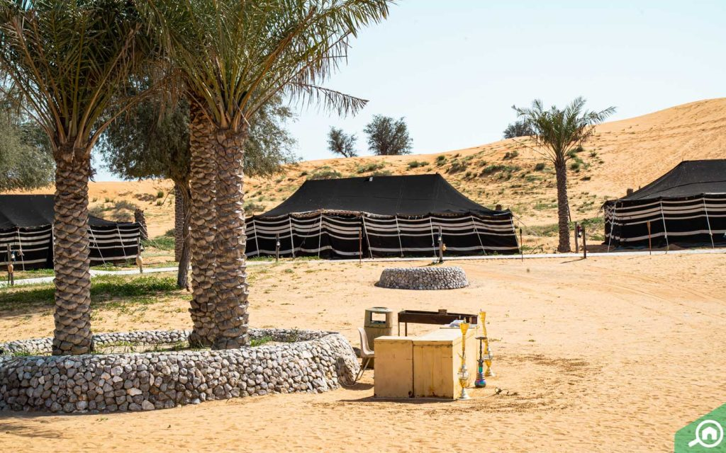 tents for camping in Bassata Village RAK