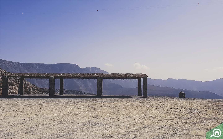Jebel Jais Mountain in RAK