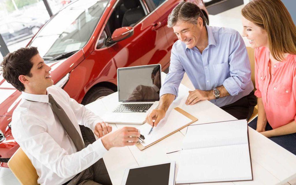 Car purchase transaction