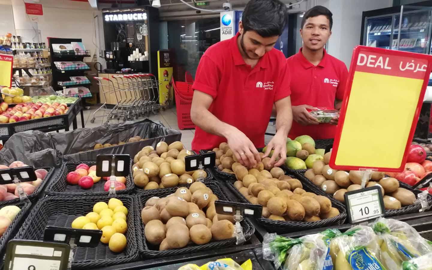 Carrefour supermarkets in dubai
