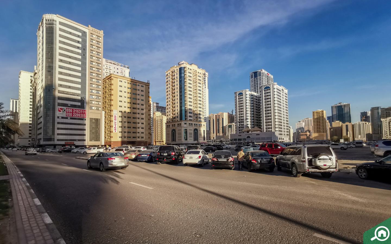 cars parked in Al Taawun