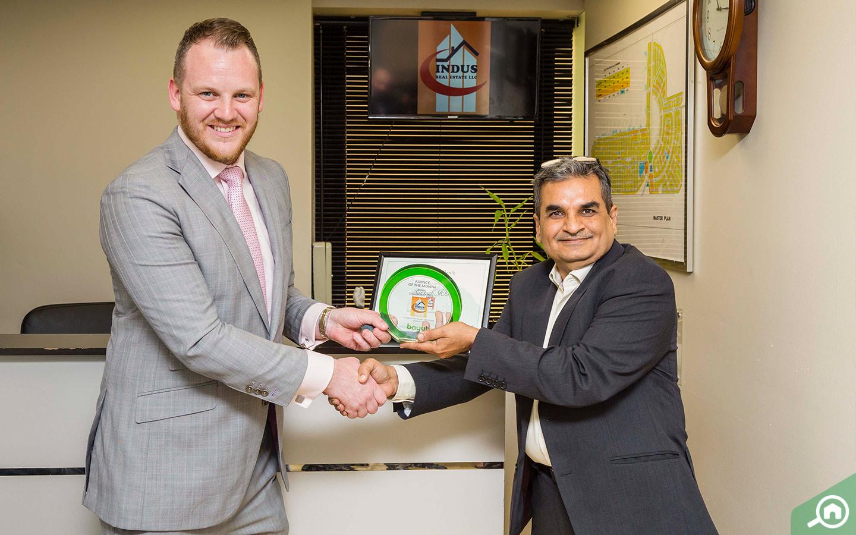 CEO of Indus, leading real estate agencies in Dubai