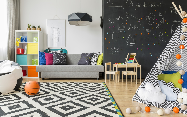 chalkboard wall design
