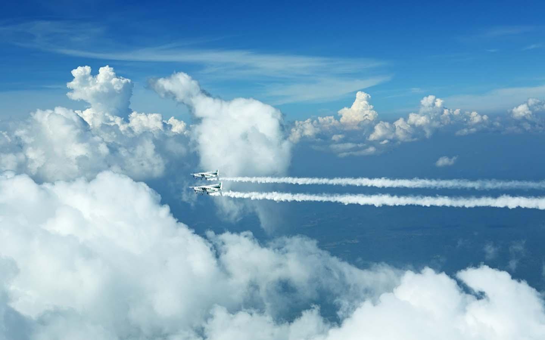 cloud seeding planes