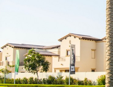 Exterior view of the houses in Arabian Ranches