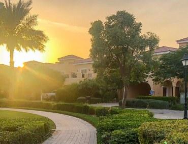 View of villas in Dubailand