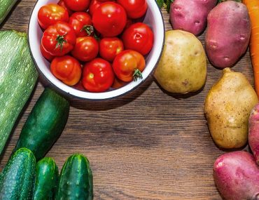 مجموعة من الخضراوات
