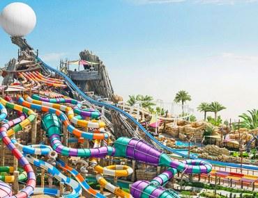 Yas waterworld Abu Dhabi Waterpark