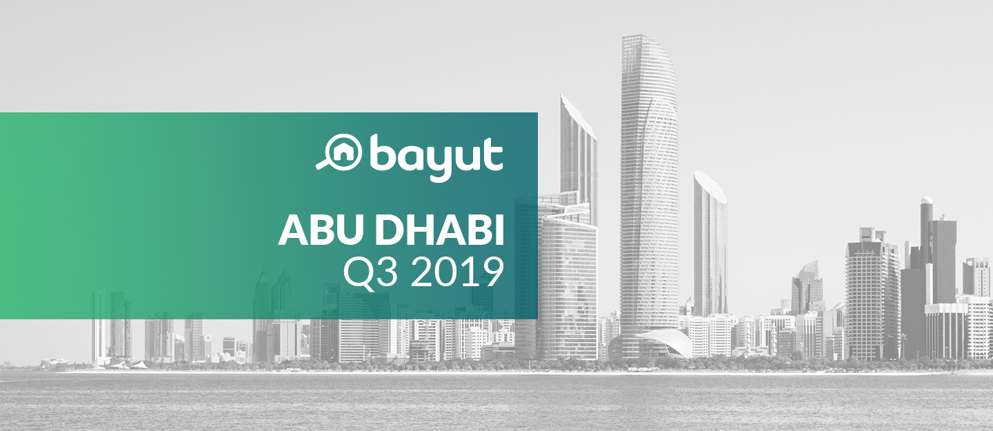 property prices in Abu Dhabi in Q3 2019