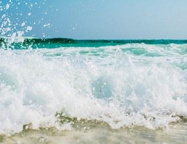The beaches in Dubai