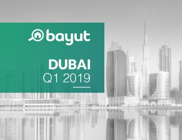 property price trends in Dubai for Q1 2019