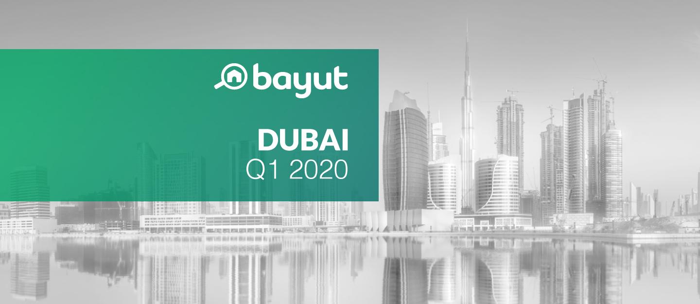 Q1 2020 Property prices in Dubai