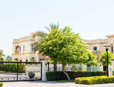 Emirates Hills, which has some of the most expensive houses in Dubai