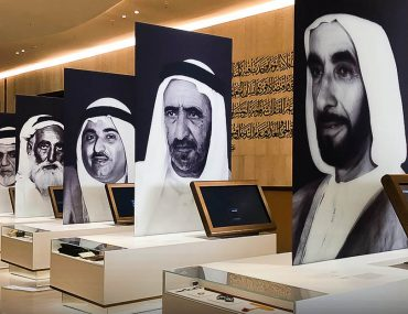 Picture of the 7 Founding Sheikhs of UAE