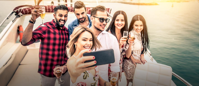 people enjoying in Dubai