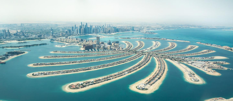 جزيرة نخلة الجميرا، جزيرة مرسومة على سطح مياه الخليج العربي