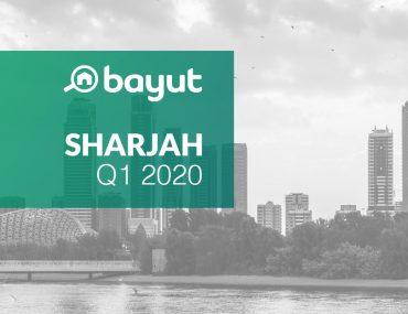 Bayut Sharjah Market Report Q1 2020 cover