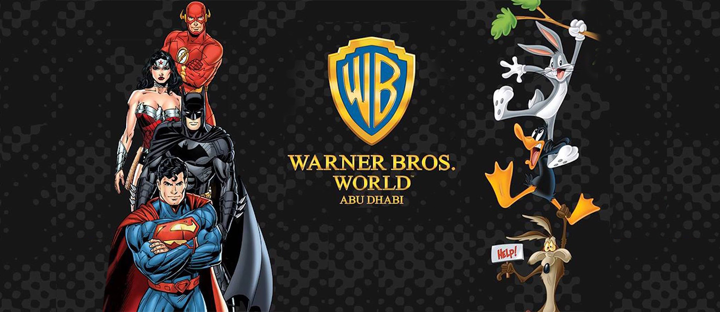 Review of Warner Bros  World Abu Dhabi: Rides, Attractions