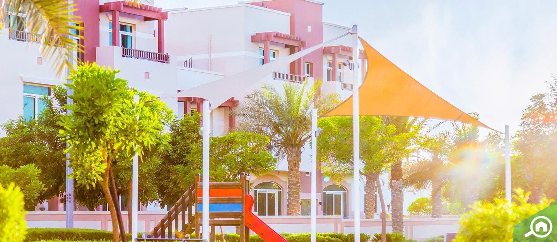 Apartment buildings in Al Ghadeer