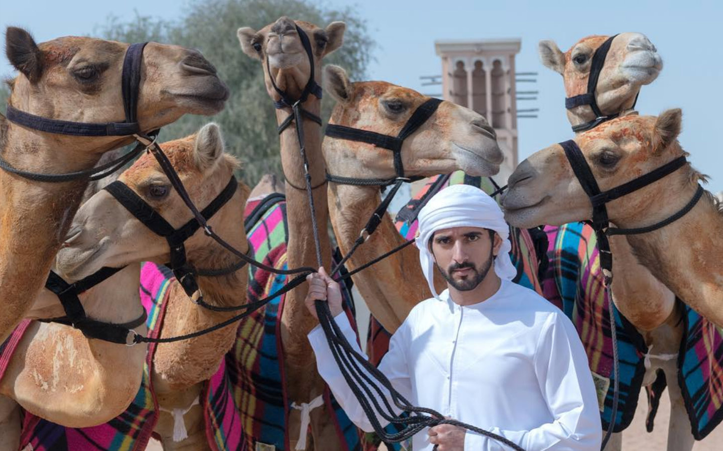 HH Sheikh Hamdan loves to travel and promote his country