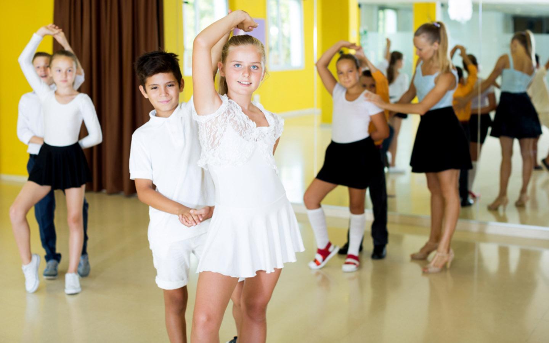 Children enjoying dance in a positive environment