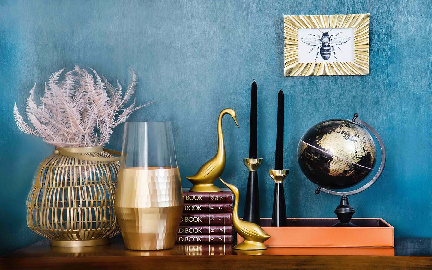 Gold Home Decor Ways To Add A Touch Of