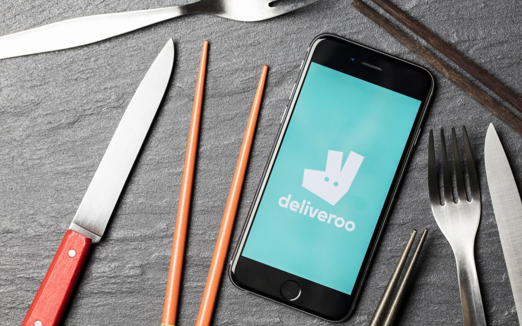 Deliveroo, one of the best food delivery apps in Dubai