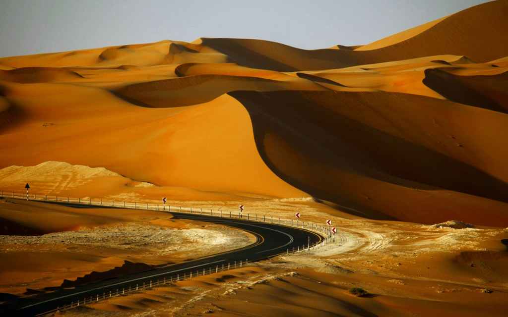 Sand dunes of Liwa