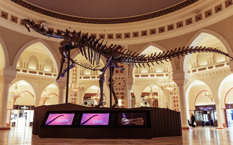 Dinosaur at Dubai Mall