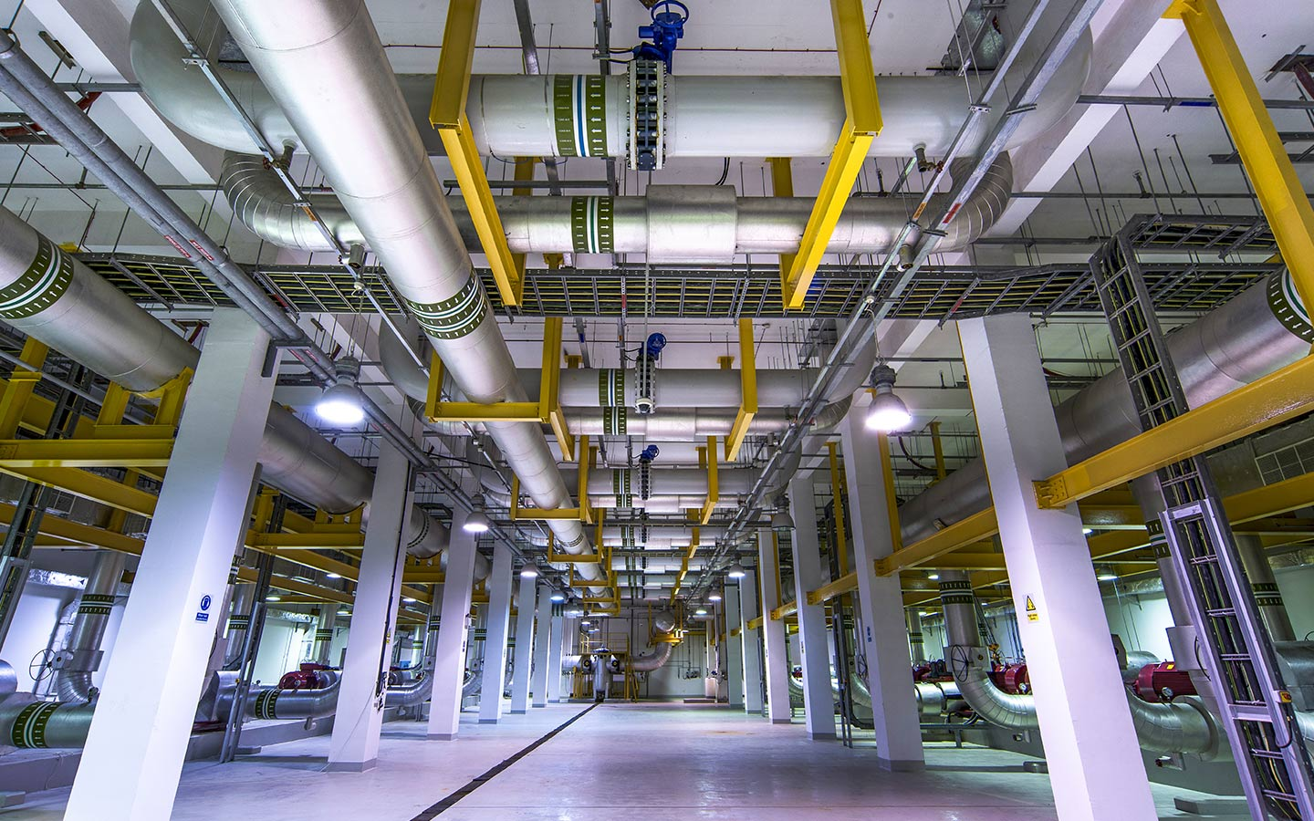 District cooling systems in Dubai