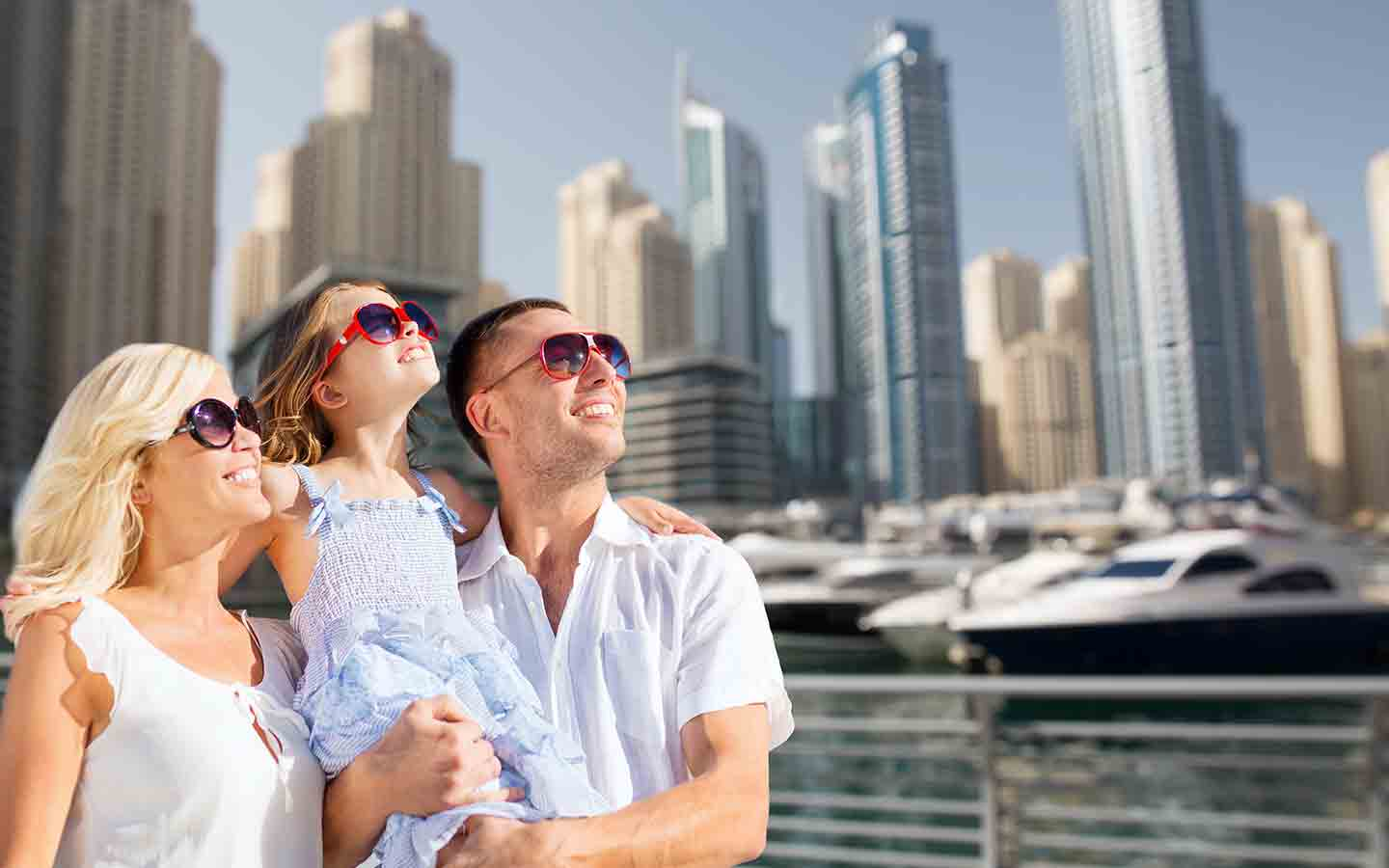 Families will have fun on a Dubai holiday