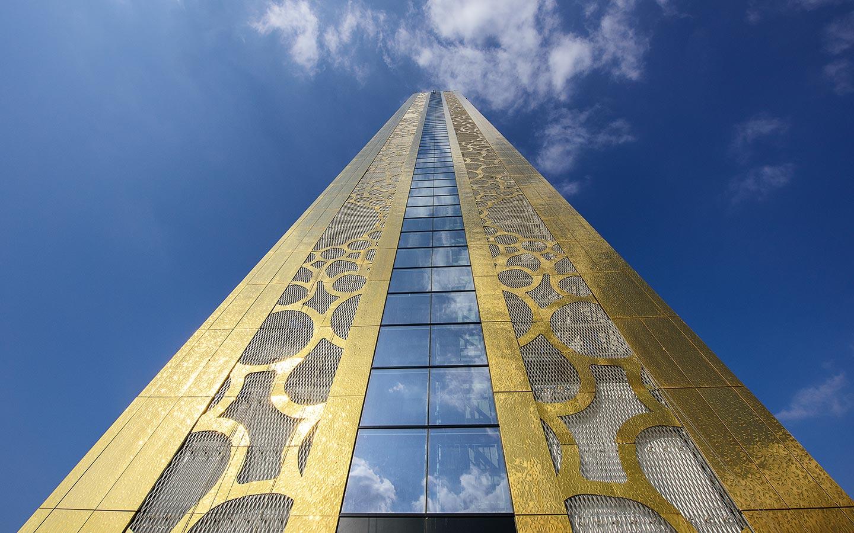 Dubai Frame Gold Exterior