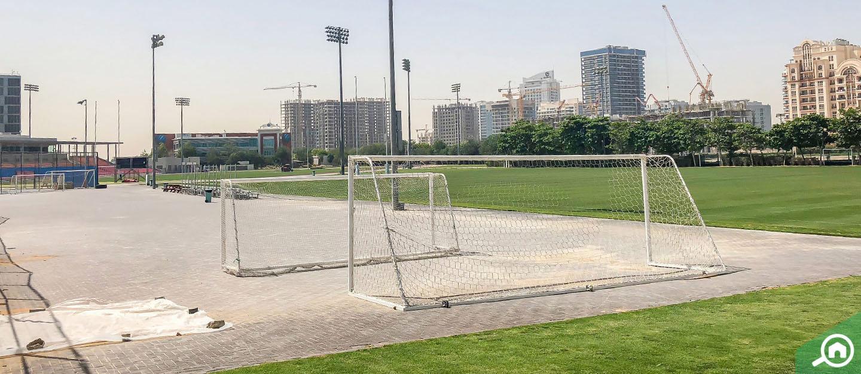 ملعب ضمن مرافق مدينة دبي الرياضية