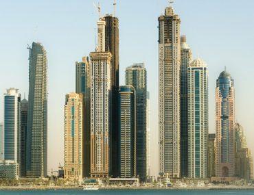 ابراج دبي الضخمة