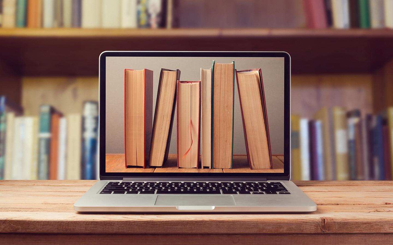 تضم مكتبة الباهية 18 ألف عنوان باللغتين العربية والإنكليزية، بالإضافة مواد سمعية وبصرية وصحف وكتب الكترونية